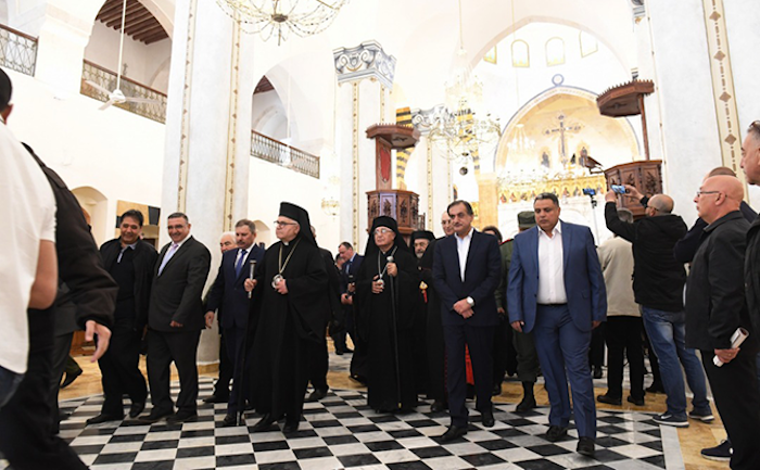 La résurrection de la cathédrale melkite d'Alep