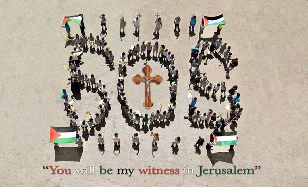 Les chrétiens de Jérusalem veulent voir le Pape (et c'est pas gagné!)