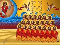 Les coptes, cap vers l'inauguration d'une église des martyrs