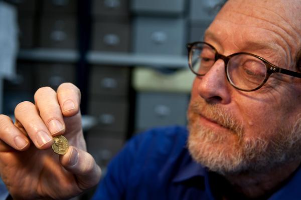 Une pièce d'or rarissime retrouvée en Galilée