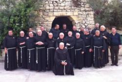 Les commissaires de Terre Sainte sur l'île de Saint-Paul
