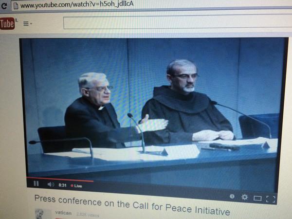 Accompagner dans la prière la rencontre d'invocation pour le don de la paix