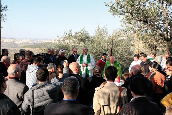 Ils en appellent au pape : le dernier espoir des habitants de Beit Jala