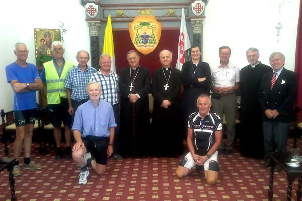 De Bruxelles à Bethléem à vélo en signe de solidarité
