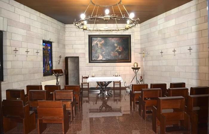 La chapelle principale de la maison.