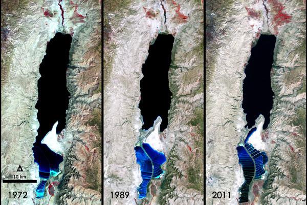 Accord trilatéral pour faire revivre la mer Morte