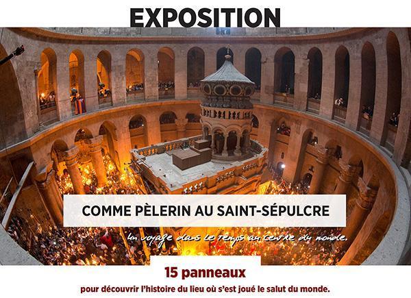 Une exposition sur le Saint-Sépulcre à Paris