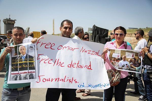 Ces journalistes palestiniens emprisonnés par Israël