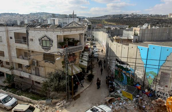 Les Palestiniens n'apprécient pas l'hôtel de Banksy