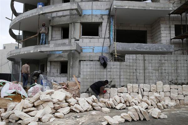 Le nombre de constructions dans les colonies israéliennes a doublé en 2013