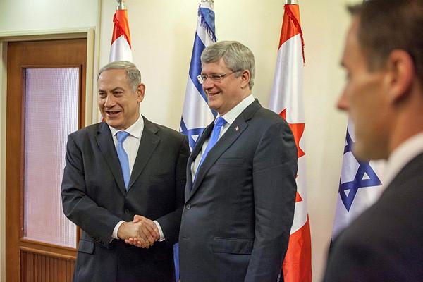 Stephen Harper, « un ami d'Israël » pour Benjamin Netanyahou