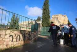 Un monastère grec-orthodoxe à nouveau profané