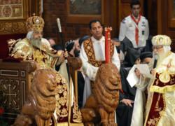 Inauguration solennelle du pontificat du pape copte Théodore II