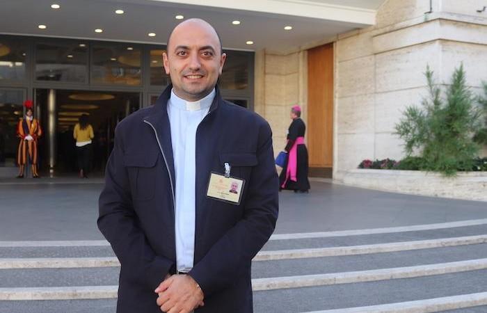 Le père Jules Boutros, catholique syrien, engagé dans la pastorale universitaire au Liban.