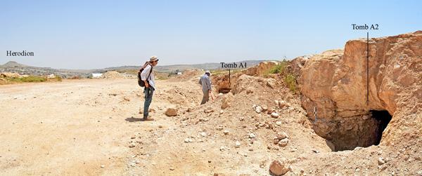 Vaste nécropole de 4200 ans trouvée à Bethléem