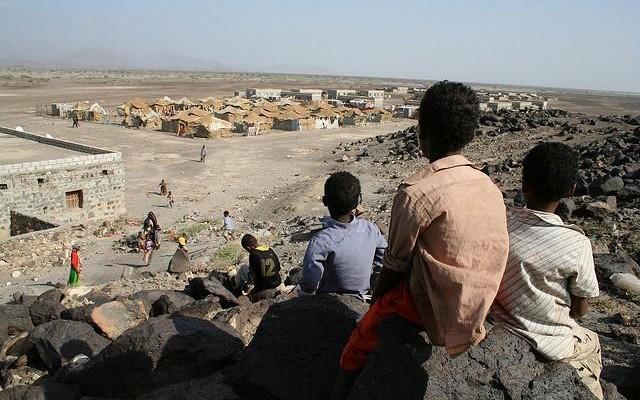 Les armes se taisent au Yémen, terre de réfugiés