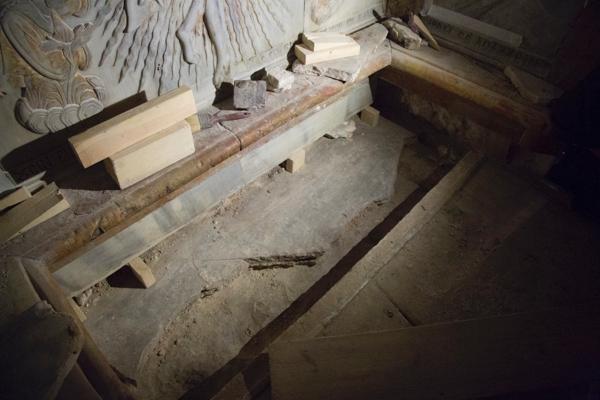 Le tombeau du Christ créerait des perturbations magnétiques