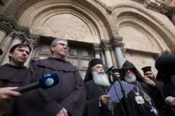 Fermeture du Saint-Sépulcre pour protester contre Israël