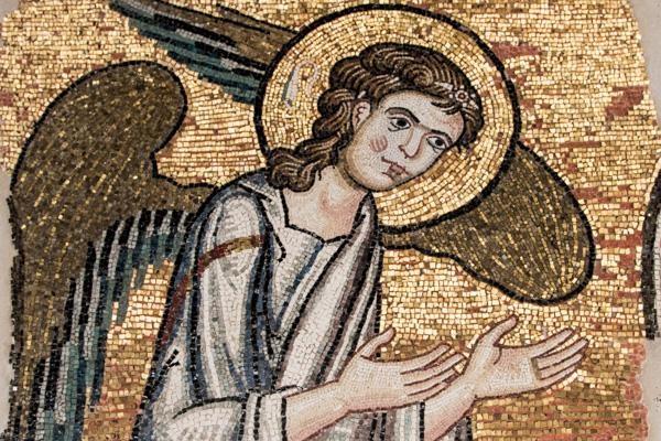 Détail de l'ange découvert - Photo © Nizar Halloun