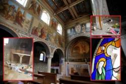 L'église Saint-Etienne de Beit Gemal vandalisée