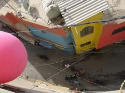 Les ballons du camp de Bourj Al Shamali