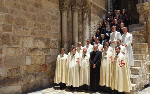 Les défis du nouveau gouverneur de l'Ordre du Saint-Sépulcre