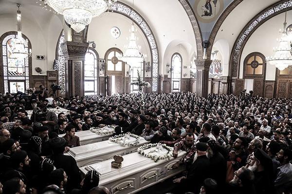 Egypte: les coptes une nouvelle fois cible du terrorisme