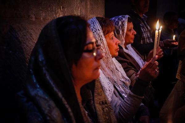Plus de 6 000 coptes d'Egypte célébreront Pâques à Jérusalem