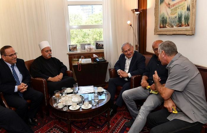 Israël État juif, les revendications des druzes