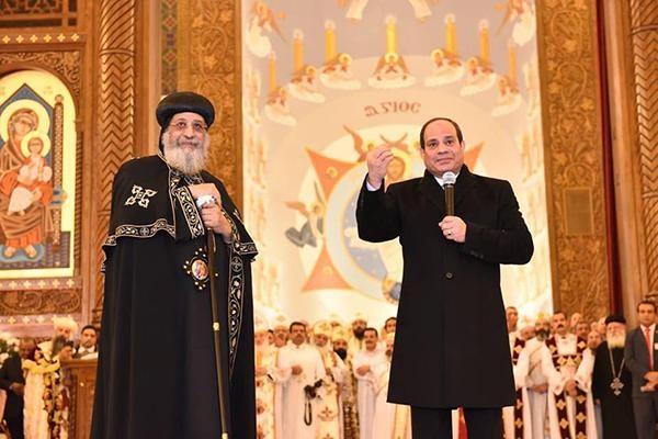 Egypte: deux lieux de culte chrétien et musulman inaugurés