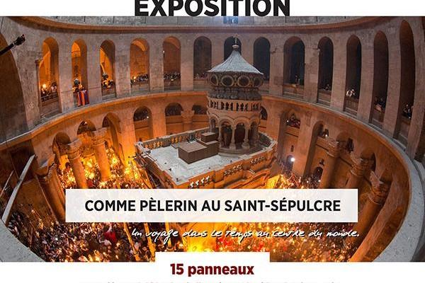 Une exposition sur le Saint-Sépulcre à Paris ce week-end