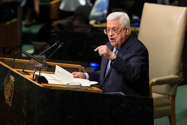 A l'Onu, le Président palestinien dénonce un 'apartheid'