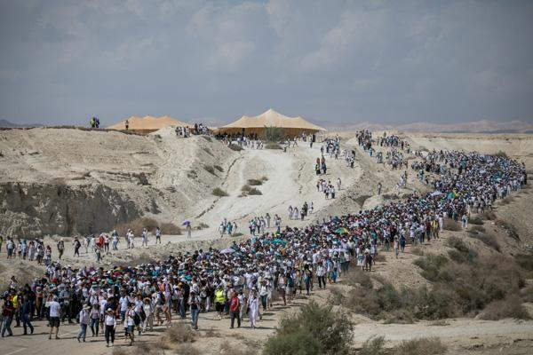 Ces Israéliennes et Palestiniennes qui marchent pour la paix