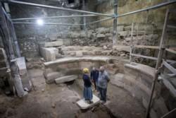 Coup de théâtre, un odéon retrouvé au pied du Mur Occidental