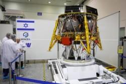 Objectif Lune en février 2019 pour Israël