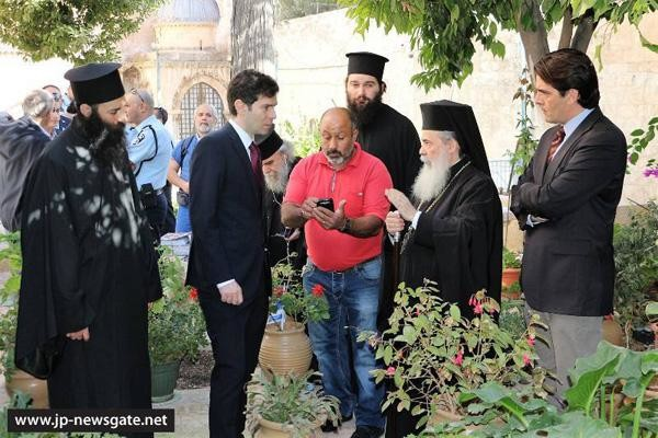 Pression de juifs extrémistes aux abords du Saint-Sépulcre