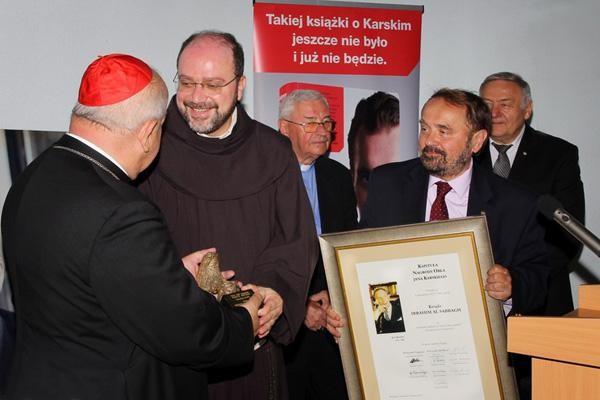 Le curé d'Alep encouragé par le Prix Jan Karski 2017