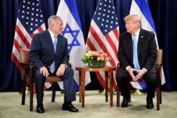 «J'aime bien la solution à deux Etats»dit Trump à l'Onu