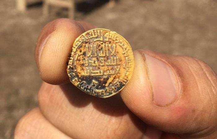 Découverte d'une pièce rarissime ans en Galilée