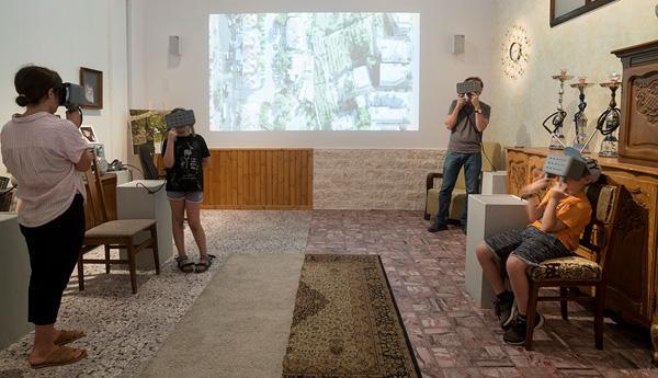 Immersion virtuelle chez les Palestiniens et les Israéliens