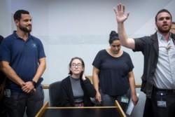 Bloquée à l'entrée d'Israël, une jeune américaine se rebiffe