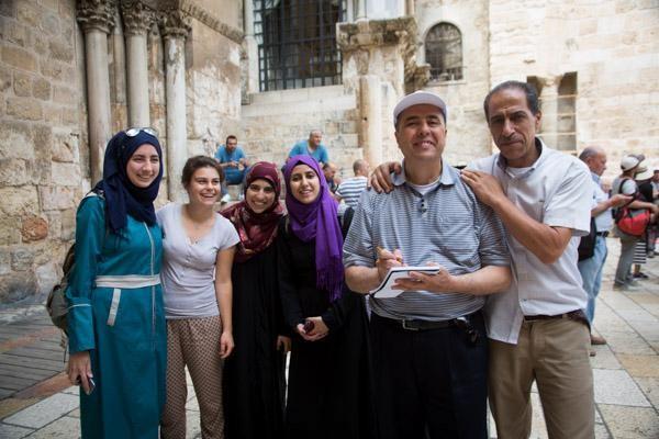 Un vendredi de Ramadan au Saint-Sépulcre