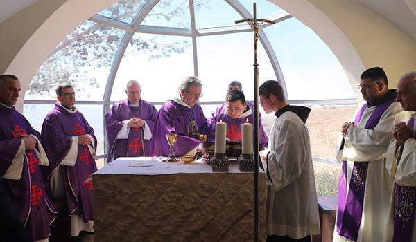 Mont Nébo: inauguration de deux chapelles pour pèlerins