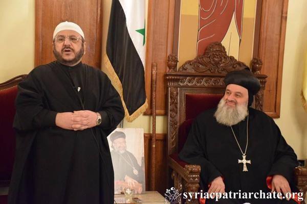 A Alep, le cheikh qui aime les chrétiens