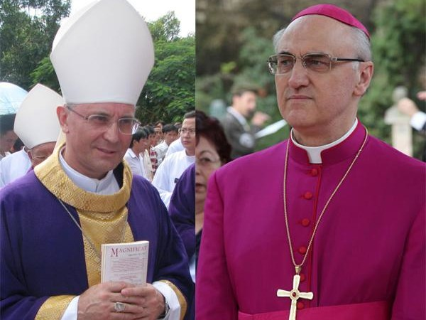 Mgr Girelli, nouveau représentant du Vatican en Terre Sainte