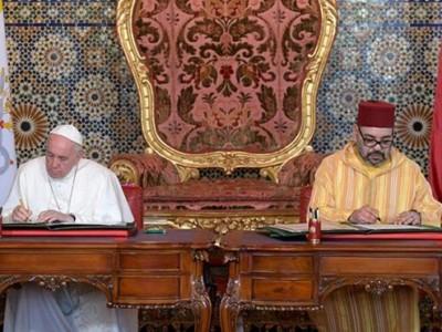 L'appel inédit du Pape et du roi du Maroc sur Jérusalem
