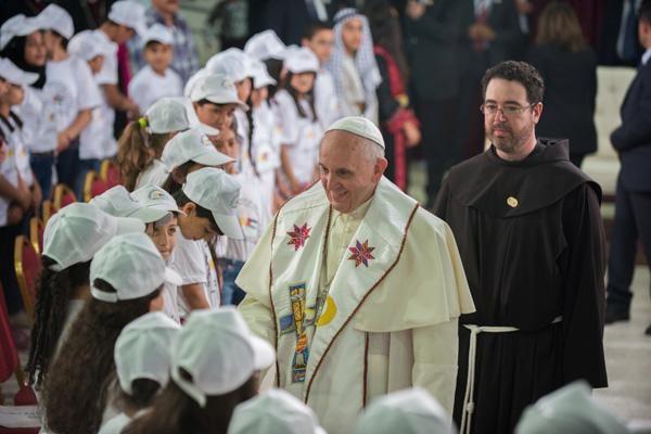 Aide du Pape aux enfants des camps de réfugiés palestiniens