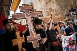 A Pâques, Jérusalem accueille les pèlerins du monde entier
