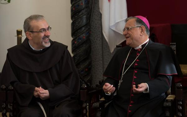 Pizzaballa écrit une lettre au diocèse de Jérusalem