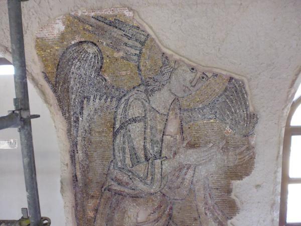 Un ange avant la restauration - © Piacenti Spa